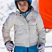 AUD/Lech/20110219 - Fotosessie Nederlandse Koninklijke Familie 2011 op wintersport in Lech, Eloise