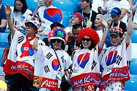 korea supporters<br /> Nizhny Novgorod 16-06-2018 Football FIFA World Cup Russia  2018 <br /> Sweden - South Korea / Svezia - Corea del Sud <br /> Foto Matteo Ciambelli/Insidefoto