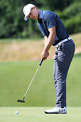 June 25, 2017 - Cromwell, Connecticut, U.S - Jordan Spieth during the final round of the Travelers Championship at TPC River Highlands in Cromwell, Connecticut. (Credit Image: © Brian Ciancio via ZUMA Wire)