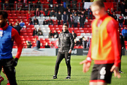Lincoln City Manager Danny Cowley the warm up before the EFL Sky Bet League 2 match between Lincoln City and Mansfield Town at Sincil Bank, Lincoln, United Kingdom on 24 November 2018.