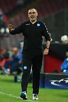Maurizio Sarri Napoli <br /> Napoli 23-11-2016 Stadio San Paolo <br /> Football Calcio UEFA Champions League 2016/2017 Group B. Napoli - Dynamo Kiev<br /> Foto Cesare Purini / Insidefoto