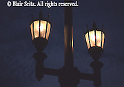 Street Lamps, Market St. Bridge, Wilkes-Barre and Kingston, Luzerne Co., PA
