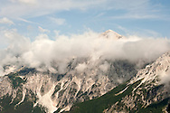 Peaks above the Valbona Valley, from the Valbona Pass, Peaks of the Balkans Trail, Albania © Rudolf Abraham