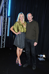 SCOT YOUNG and NOELLE RENO at a party to celebrate the launch of the new 2&8 club at Morton's Berkeley Square, London on 27th September 2012.