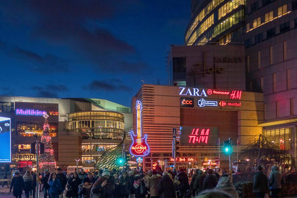 Złote Tarasy, Warszawa, Polska<br /> Golden Terraces, Warsaw, Poland