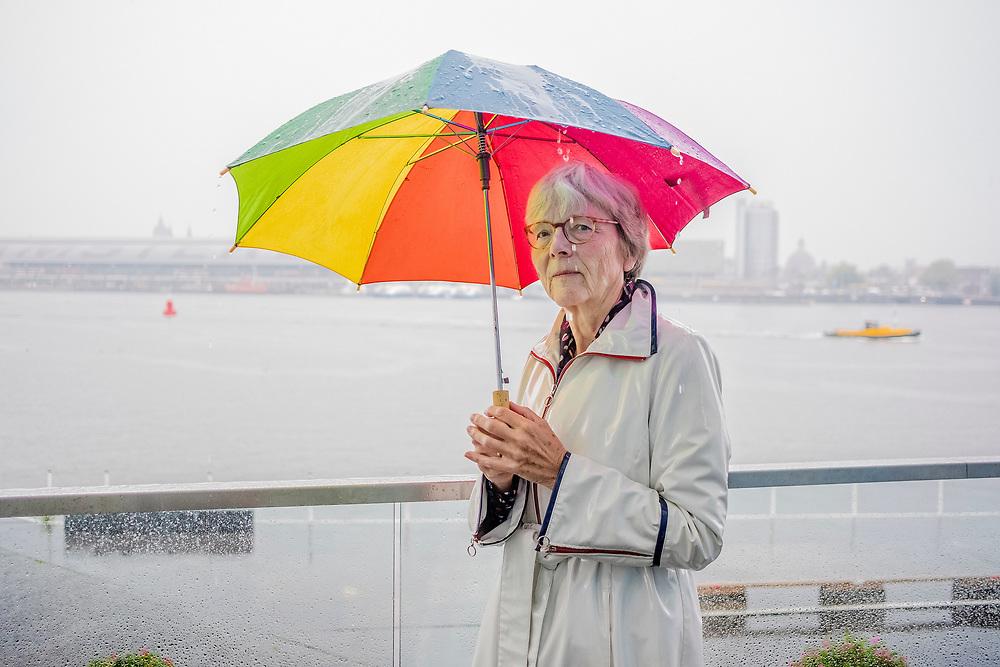 Nederland. Amsterdam, 05-09-2018. Photo: Patrick Post. Portret van Gemma Krijns.