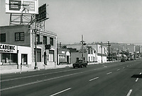 1972 Looking north up Highland Ave. from Santa Monica Blvd.