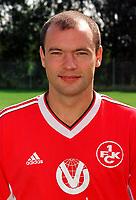 Fotball<br /> Foto: imago/Digitalsport<br /> NORWAY ONLY<br /> <br /> 15.07.1998 <br /> <br /> Uwe Rösler im Porträt