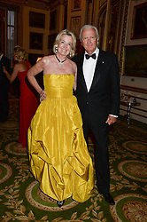 GALEN WESTON and HILARY WESTON at The Animal Ball in aid of The Elephant Family held at Lancaster House, London on 9th July 2013.
