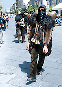"""In Sardinia there are more than 200 festivals and events during the year, but only 3 offer the opportunità to see united, un the same place, all the traditional customs of the isle: Sant'Efisio at Cagliari, the Redentore at Nuoro and the Cavalcata Sarda at Sassari.<br /> The Cavalcata, that is different from the other two celebration because it's not a religious celebration, it join varoius aspects of celebration: there is the presentation of the customs then there is one component more sportive with skills by the riders (""""pariglie""""), elements typically of folk-lore: songs and dances tha last until late hour."""