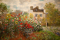National Gallery, Washington DC. Painting by Monet.