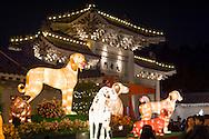 Lantern Festival at Chiang Kai Shek Memorial Hall i Taipei, Taiwan.