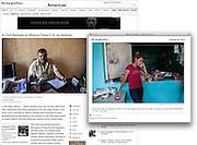 """A Civil Servant in Mexico Tests U.S. on Asylum"", The New York Times, Mexico, December 28, 2013. Photographs by Rodrigo Cruz."