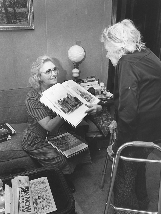 ©1990 Volunteers in Action: doing public service in their community with library outreach.