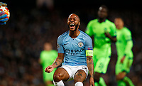 Football - 2018 / 2019 UEFA Champions League - Round of Sixteen, Second Leg: Manchester City (3) FC Schalke 04 (2)<br /> <br /> Raheem Sterling of Manchester City at The Etihad.<br /> <br /> COLORSPORT/LYNNE CAMERON