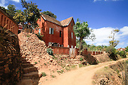 Madagascar, farmhouse