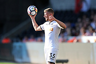 Stephen Kingsley of Swansea city in action. Swansea city v Sampdoria , pre-season friendly at the Liberty Stadium in Swansea, South Wales on Saturday August 5th 2017.<br /> pic by Andrew Orchard, Andrew Orchard sports photography.
