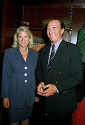 CAPT.MARK & MRS PHILLIPS at a party in London on 17th July 1997.MAJ 22
