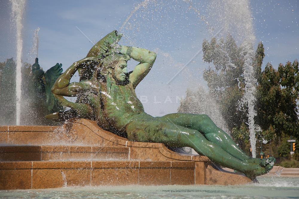 Swann Memorial Fountain in Philadelphia, PA