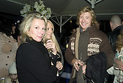 JENNIFER SAUNDERS AND NICKY CLARKE. Winter party hosted by the Somerset House Trust and Tiffany's. To celebrate the opening of the Ice Rink at Somerset House. 20 November 2007. -DO NOT ARCHIVE-© Copyright Photograph by Dafydd Jones. 248 Clapham Rd. London SW9 0PZ. Tel 0207 820 0771. www.dafjones.com.