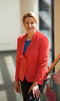 DEU, Deutschland, Germany, Berlin, 30.04.2016: Portrait Dr. Franziska Giffey, Bezirksbürgermeisterin von Neukölln, beim Landesparteitag der SPD im Hotel Estrel.