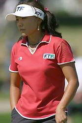 04 Sep 2005<br /> <br /> Mi Hyun Kim.<br /> <br /> LPGA State Farm Classic.  The Rail Golf Course, Springfield (Sherman) Illinois