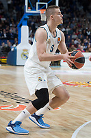 Real Madrid Dino Radoncic during Turkish Airlines Euroleague match between Real Madrid and Anadolu Efes at Wizink Center in Madrid, Spain. January 25, 2018. (ALTERPHOTOS/Borja B.Hojas)