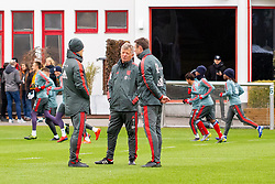 14.03.2019, Säbener Strasse, Muenchen, GER, 1. FBL, FC Bayern Muenchen vs 1. FSV Mainz 05, Training, im Bild v.l. Headcoach Niko Kovac (FC Bayern), CO Trainer Perter Hermann (FC Bayern), CO Trainer Robert Kovac (FC Bayern) // during a trainings session before the German Bundesliga 26th round match between FC Bayern Muenchen and 1. FSV Mainz 05 at the Säbener Strasse in Muenchen, Germany on 2019/03/14. EXPA Pictures © 2019, PhotoCredit: EXPA/ Lukas Huter