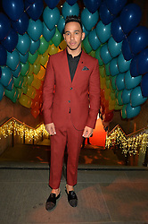 LEWIS HAMILTON at 'The World's First Fabulous Fund Fair' in aid of the Naked Heart Foundation hosted by Natalia Vodianova and Karlie Kloss at The Roundhouse, Chalk Farm Road, London on 24th February 2015.