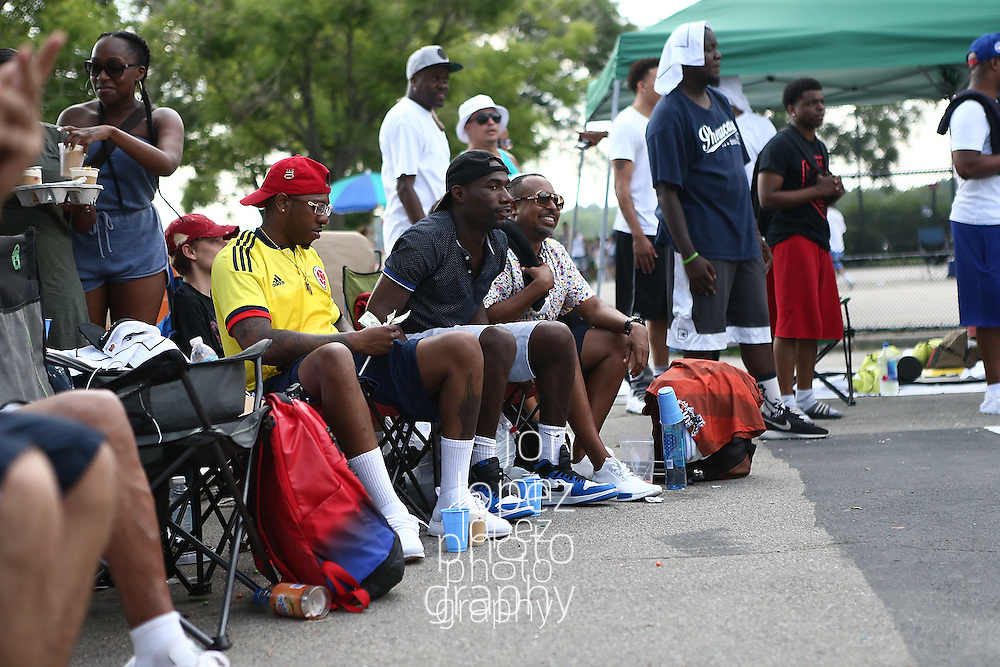 ORCHARD BEACH. SUNDAY, JULY 17, 2016. Hoops in the Sun all-star game vs LES Express. (Mandatory Photo Credit: Jon Lopez)