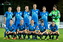 National team of Slovenia before football match between Slovenia and Nederland in qualifying Round of Woman's qualifying for EURO 2021, on October 5, 2019 in Mestni stadion Fazanerija, Murska Sobota, Slovenia. Photo by Blaž Weindorfer / Sportida