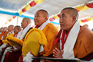 Some of the nuns after receiving their Geshe-ma degree at Drepung Lachi Monastery in Mundgod, Karnataka, India on December 22, 2016