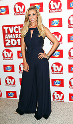 Catherine Tyldesley  arriving at the TV Choice Awards in London,Monday, 9th September 2013. Picture by Stephen Lock / i-Images