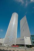 High rise buildings in Tel Aviv, Israel, 2006