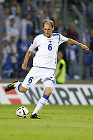 FOOTBALL - UEFA EURO 2012 - QUALIFYING - GROUP D - LUXEMBOURG v BOSNIA - 3/09/2010 - PHOTO ERIC BRETAGNON / DPPI - ELVIR RAHIMIC (BOS)