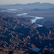 The Colorado River, March 18, 2019, south of Hoover Dam. The historic Colorado River Drought Contingency Plan was signed by the seven basin states, May 20, 2019.