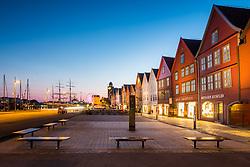 UNESCO heritage listen houses of Bryggen, Bergen, Norway. 20/05/14. Photo by Andrew Tallon