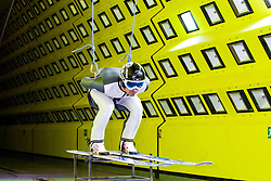 19.10.2013, Klima Wind Kanal, Wien, AUT, OESV, Nordische Kombination Skisprungtraining im Wind Kanal, im Bild Lukas Klapfer // during the Skijump training in the Climatic Wind Tunnel, Austria 20131019. EXPA Pictures © 2013, PhotoCredit: EXPA/ Sascha Trimmel
