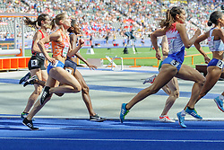 Sanne Wolters - Verstegen niet door naar de finale 800m bij het EK atletiek in Berlijn op 7-8-2018