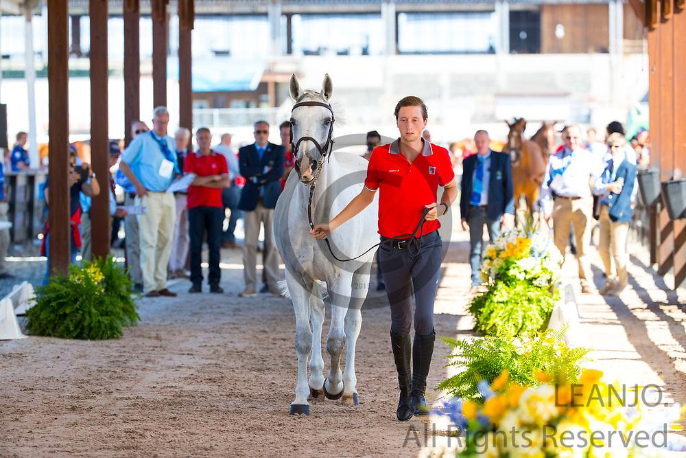 Marcus Fuchs - Clooney<br /> FEI World Equestrian Games Tryon 2018<br /> © DigiShots