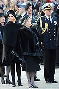 Nationale dodenherdenking op de Dam in Amsterdam .<br /> <br /> Op de foto:<br /> <br />  prins Willem-Alexander en  prinses Maxima