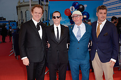 John C. Reilly, Joaquin Phoenix, Jacques Audiard, Thomas Bidegain attending the premiere of The Sisters Brothers during the 44th Deauville American Film Festival in Deauville, France on September 4, 2018. Photo by Julien Reynaud/APS-Medias/ABACAPRESS.COM