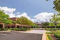 Architectural image of Ridgeview 3 Office Building in Chantilly Virginia by Jeffrey Sauers of Commercial Photographics, Architectural Photo and Video Artistry