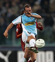 Fotball<br /> Serie A Italia 2004/2005<br /> Foto: Graffiti/Digitalsport<br /> NORWAY ONLY<br /> <br /> Roma 6/1/2005<br /> <br /> Lazio Roma 3-1 <br /> SS Lazio forward Paolo Di CAnio scores goal of 1-0
