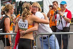 Women's 100 meter hurdles, Nadine Visser, Netherlands