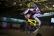 #101 (GREEN Charlotte) GBR at the 2014 UCI BMX Supercross World Cup in Manchester.