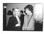 Miranda Richardson and Stephen Rea, The Crying Game, Tribeca Grill, New York, 22 Nov 1992© Copyright Photograph by Dafydd Jones 66 Stockwell Park Rd. London SW9 0DA Tel 020 7733 0108 www.dafjones.com