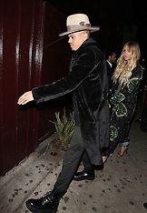 Hollywood - Ashlee Simpson at the Grammy's After Party 12 Feb 2017
