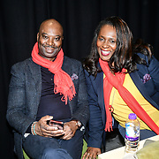 Kenrick Williamson and Medina Williamson attends the 2020 China-Britain Chinese New Year Extravaganza with 200 performers from over 20 art groups from both China and the UK showcase at Logan Hall on 18th January 2020, London, UK.