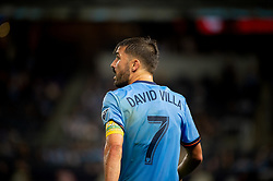 September 26, 2018 - Bronx, New York, US - New York City FC forward DAVID VILLA (7) during a regular season match at Yankee Stadium in Bronx, New York.  New York City FC defeats Chicago Fire 2 to 0 (Credit Image: © Mark Smith/ZUMA Wire)